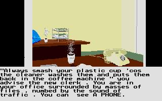 Screenshot of Public Investigations