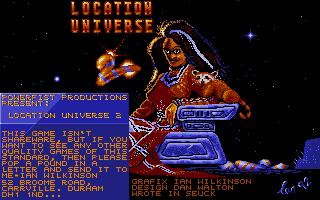 Screenshot of Location Universe 2