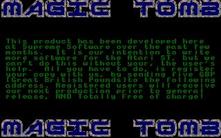 Thumbnail of other screenshot of Magic Tomb