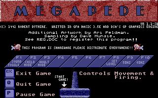 Screenshot of Megapede