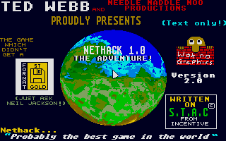 Thumbnail of other screenshot of Nethack - The Adventure