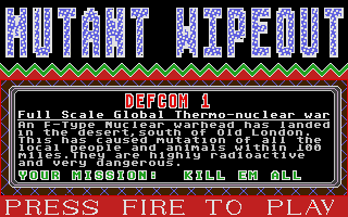 Thumbnail of other screenshot of Mutant Wipeout