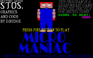 Thumbnail of other screenshot of Micro Maniac
