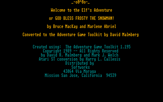 Screenshot of Elfs Adventure