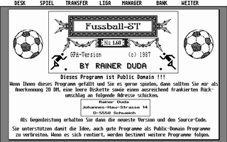 Thumbnail of other screenshot of Fussball-ST