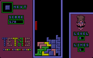 Thumbnail of other screenshot of Tetris - The Arcade Version