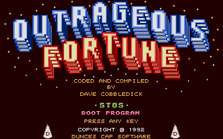 Thumbnail of other screenshot of Outrageous Fortune