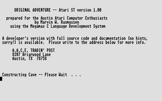Screenshot of Original Adventure