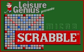 Screenshot of Micro Scrabble