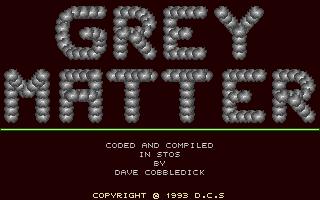 Screenshot of Grey Matter