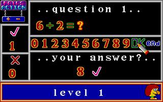 Screenshot of Maths Action
