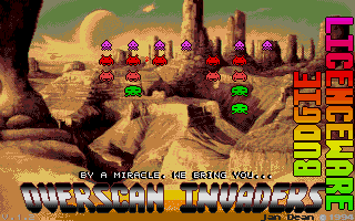 Thumbnail of other screenshot of Overscan Invaders