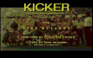 Screenshot of Kicker