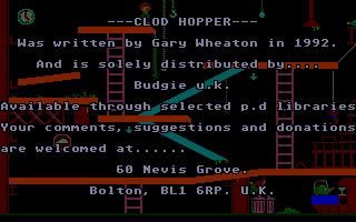 Thumbnail of other screenshot of Clod Hopper