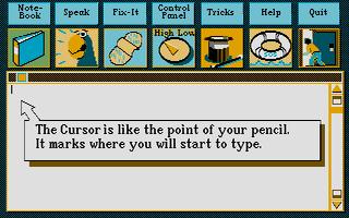 Screenshot of Kidtalk