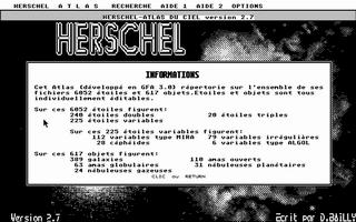 Screenshot of Herschel - Atlas Du Ciel Boreal