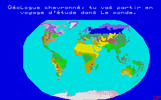 Screenshot of À La Découverte De La Terre