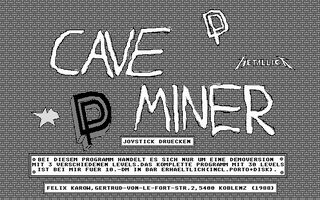 Screenshot of Cave Miner