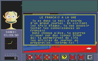 Screenshot of Adi CM1 - Français