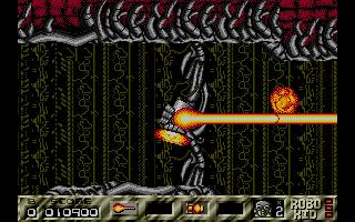 Screenshot of Atomic Robo-Kid