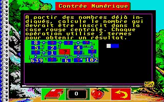 Screenshot of Bosse des Maths 5eme, La