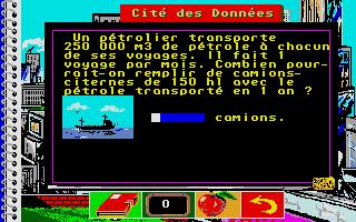Screenshot of Bosse des Maths 6eme, La