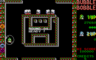 Thumbnail of other screenshot of Bubble Bobble - Extended Screens