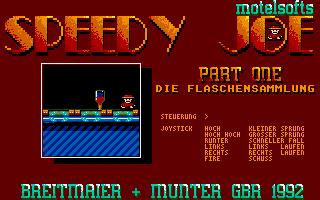 Thumbnail of other screenshot of Speedy Joe