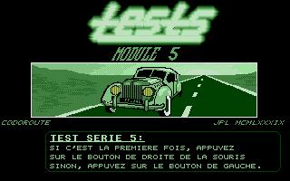 Screenshot of Codoroute vol.8 - Tests Module 5