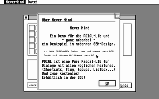 Thumbnail of other screenshot of Never Mind