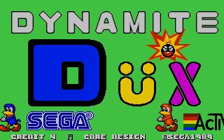 Screenshot of Dynamite Dux