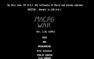 Thumbnail of other screenshot of Macro War
