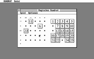 Screenshot of Magisches Quadral