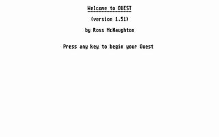 Screenshot of Quest