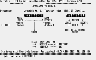 Thumbnail of other screenshot of Tetritis