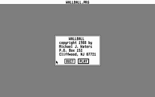 Thumbnail of other screenshot of Wallball