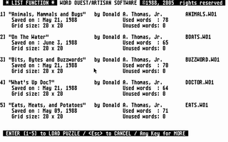 Thumbnail of other screenshot of Word Quest