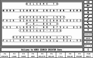 Thumbnail of other screenshot of Word Search Creator