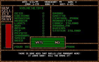 Thumbnail of other screenshot of Dopewars