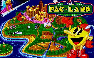 Screenshot of Pac-Land