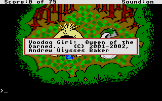 Thumbnail of other screenshot of Voodoo Girl - Queen Of The Darned