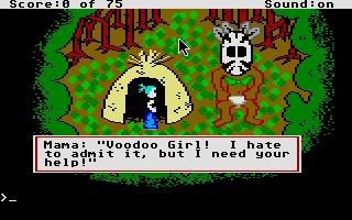 Screenshot of Voodoo Girl - Queen Of The Darned