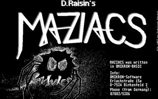 Thumbnail of other screenshot of Maziacs