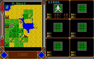 Screenshot of Sandor II - Kotalan Und Die Drei Schwester'n