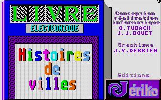 Screenshot of Histoires de Villes