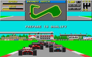 Screenshot of Atari Grand Prix