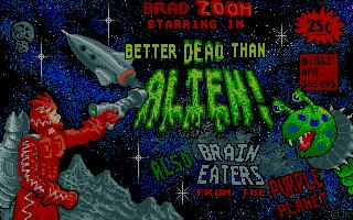 Thumbnail of other screenshot of Better Dead Than Alien