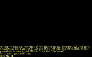 Screenshot of Silicon Dreams Trilogy