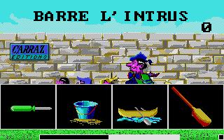 Screenshot of Barre l'intrus