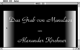 Thumbnail of other screenshot of Hascs III - Das Grab von Manuleos